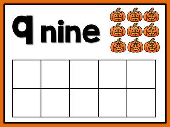 Halloween Counting Mats