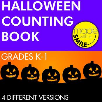 Halloween Counting Mini Book