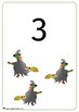 Halloween Counting/Number Posters/Cards 0-10 - uneditable