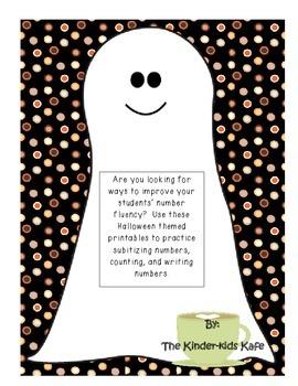 Halloween Counting Printables
