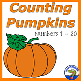 Pumpkins Counting Cards