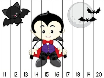 Halloween Counting Puzzles