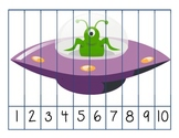 Halloween Counting Puzzles to 10