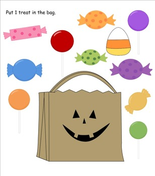Halloween Counting (SMARTboard activity)