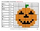 Halloween: Counting Tally Marks - Math Mystery Pictures / Color By Number