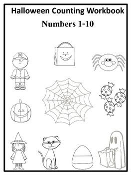 Halloween Counting  Workbook