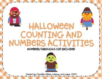 Halloween Counting and Numbers Activities