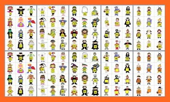 Halloween Math Activities:  Counting and Skip Counting