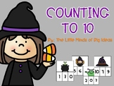 Number Sense: Halloween Counting to 10