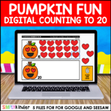 Halloween Counting to 20 for Google and Seesaw