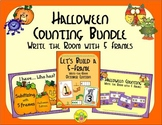 Halloween Counting with 5 Frames Bundle {Subitizing}