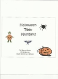 Halloween Counting with Teen Numbers!