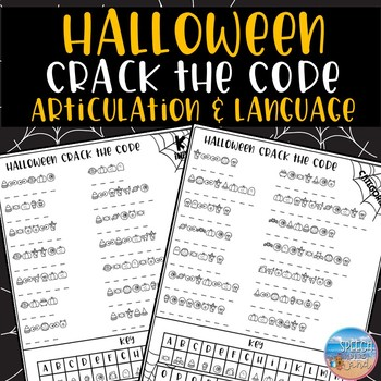 Halloween Crack the Code: Articulation and Language