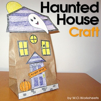 Halloween Craft Haunted House