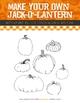 Jack-O'-Lantern Drawing Prompt - Halloween Craft