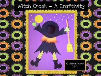Halloween Witch Craftivity - A Witch Crash!