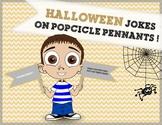 Halloween Craft Activity: Halloween Joke Popsicle Pennants!