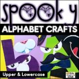 Halloween Craft + Alphabet Craft (Fun Fall Activities For
