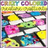 Halloween Craft: Crazy Colored Creatures Project and Song