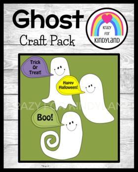Halloween Craft: Ghosts