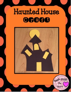 Halloween Craft (Haunted House)