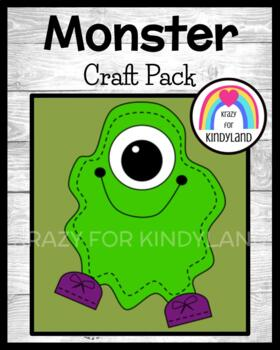 Halloween Craft: Monster