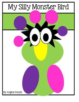Halloween Craft - My Silly Monster Bird