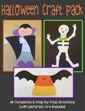 Halloween Craft Pack 2 - 3 Craft Bundle