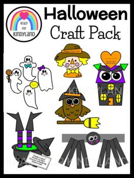 Halloween Crafts Value Pack: Scarecrow,Witch,Owl,Haunted H