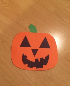 Halloween Craft (Pumpkin)