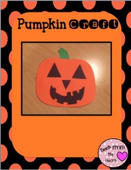 Halloween Craft (Pumpkin)