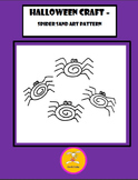Halloween Craft - Sand Art Patterns