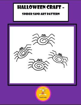 Halloween Craft - Sand Art Patterns