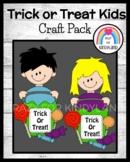 Trick Or Treat Kids Craft (Halloween, Fall, Autumn)