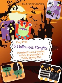 Halloween Craft Unit (6 projects)