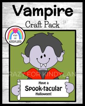 Halloween Craft: Vampire