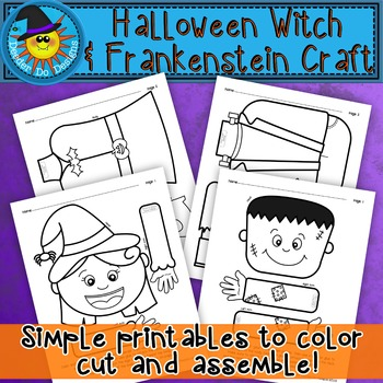 Halloween Craft (Easy Printables)