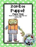 Halloween Craft: Zombie Paper Bag Puppet
