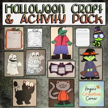 Halloween Craft and Activity Pack - 8 Halloween Crafts!