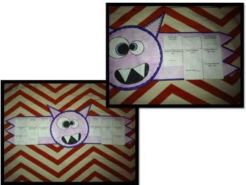 Halloween Craftivities Grade 3 CCSS