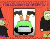 Halloween Craftivity Pack - writing printables & witch craft