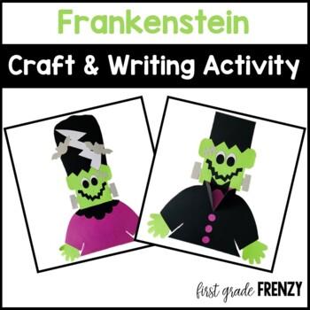 Frankenstein Halloween Craftivity