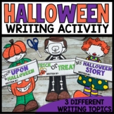 Halloween Writing Activities - Craftivity
