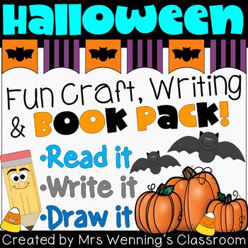 Halloween Craftivity & Book Pack!