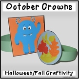 Halloween Craftivity - Crowns for Halloween and Autumn