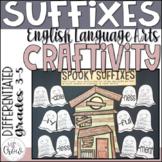 Halloween Craftivity Spooky Suffixes