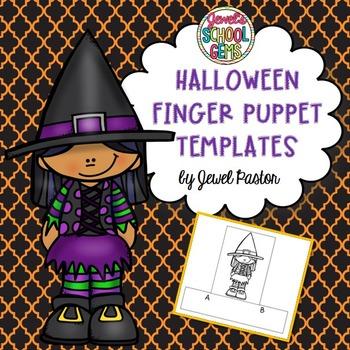 Halloween Crafts Activities (Finger Puppets)