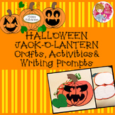 Halloween Crafts, Activities and Writing Prompts - Jack-O-Lantern / Pumpkin