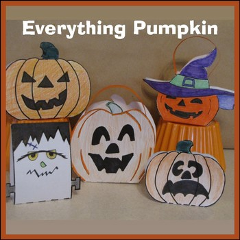 Hallowe'en Crafts - Everything Pumpkin (Goodie Bags, Decorations, Cards) & Frank