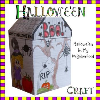 Hallowe'en Crafts - Hallowe'en in My Neighborhood